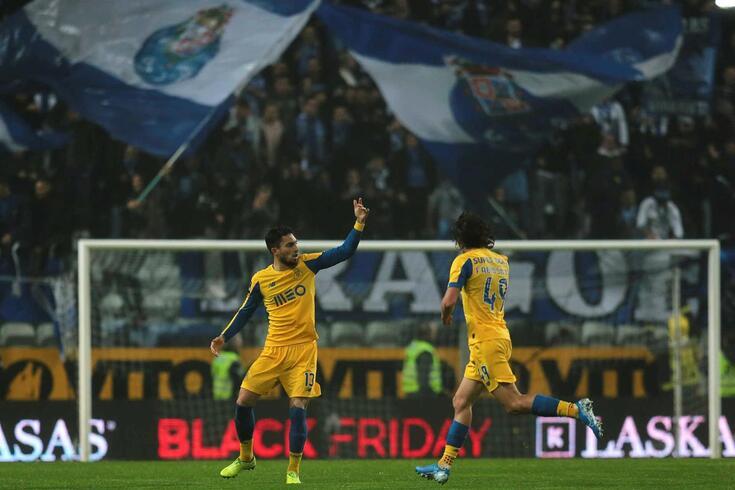 Alex Telles decidiu o Boavista-FC Porto