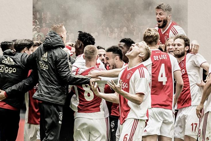 Ajax é o novo campeão holandês