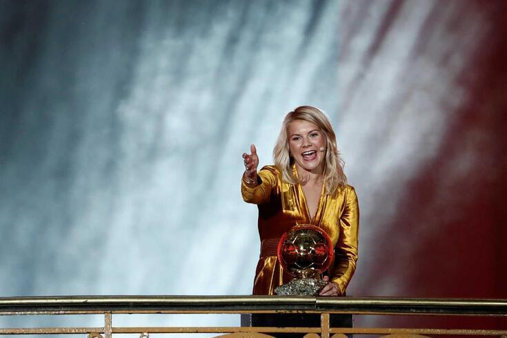 A MULHER DA SEMANA - Ada Hegerberg:Twerk? Eu é mais golos...