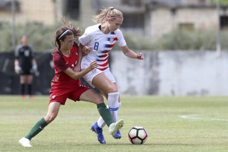 Portugal goleado por Estados Unidos no torneio de futebol feminino de sub-16