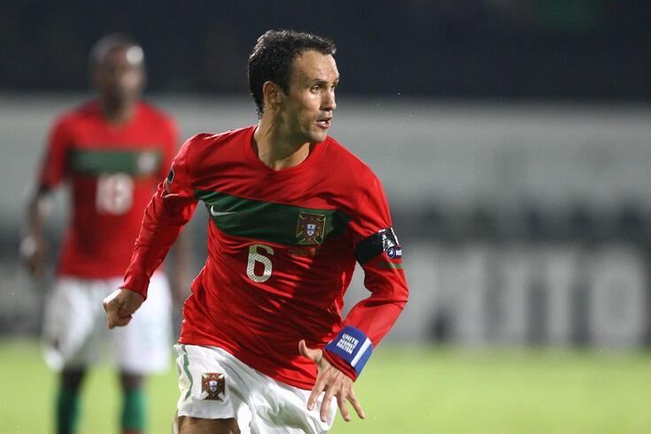 Ricardo Carvalho ainda com a camisola da Seleção Nacional