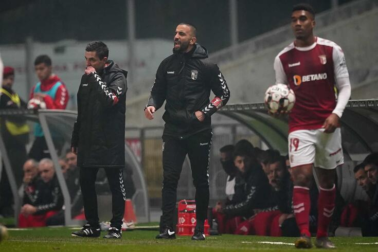 Rúben Amorim fez a antevisão ao jogo em casa do FC Porto.