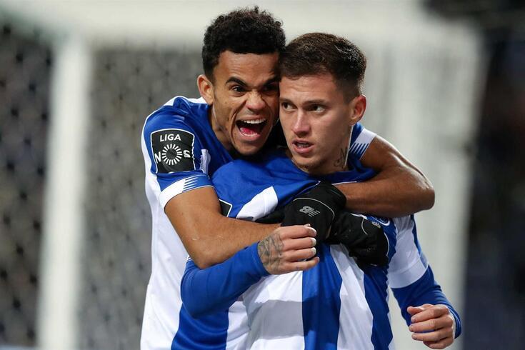 Terceiro golo do FC Porto ao Tondela foi marcado por Otávio