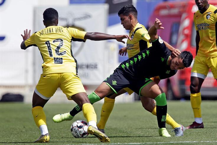 Bétis venceu o Portimonense no Algarve