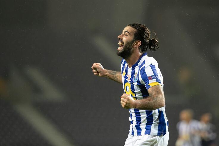 Porto, 27/10/2020 - O Futebol Clube do Porto recebeu esta noite o Olympiakos, no Estádio do Dragão, em