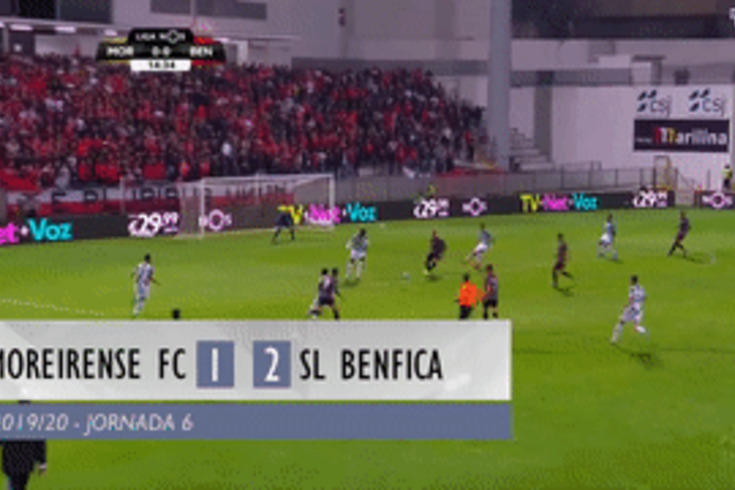 A reviravolta do Benfica em Moreira de Cónegos resumida em 60 segundos