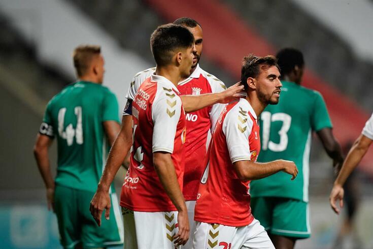 Braga bateu o Farense em jogo de preparação