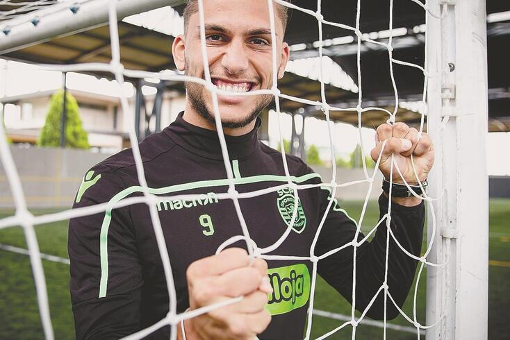 Pedro Mendes, avançado Sub-23 do Sporting