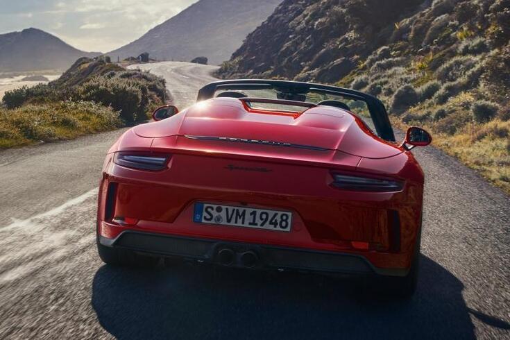 Esta é a versão final do Porsche 911 Speedster