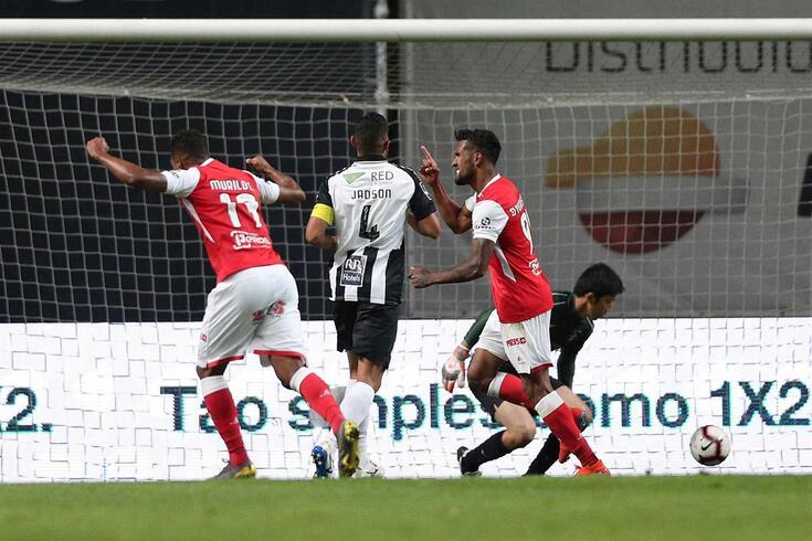 Braga venceu o Portimonense