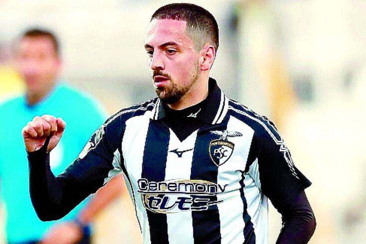 Bruno Costa, médio que trocou o FC Porto pelo Portimonense