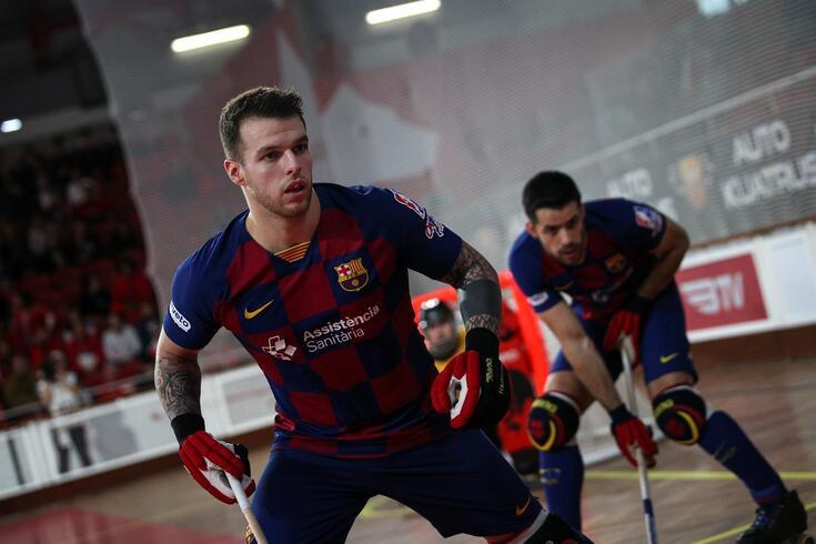 Barcelona volta aos treinos sem Hélder Nunes e João Rodrigues