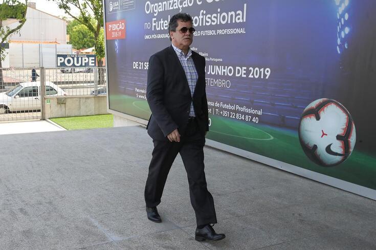 Rui Alves, presidente do Nacional