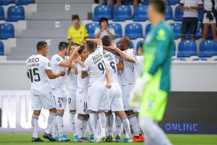 DIRETO | Ventspils-V. Guimarães, 0-3
