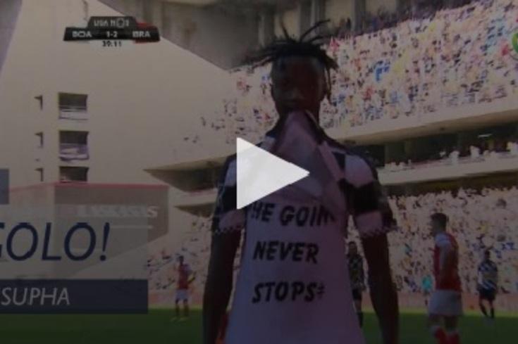 Boavista-Braga: menos de quatro minutos e axadrezados viraram o resultado