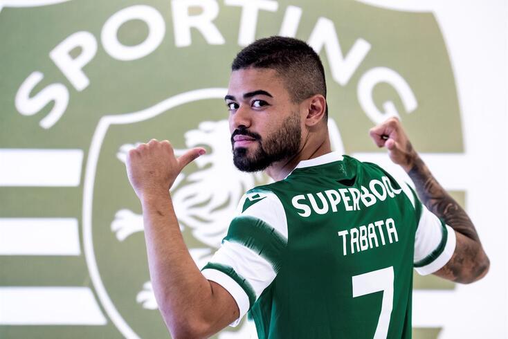 Bruno Tabata é reforço do Sporting