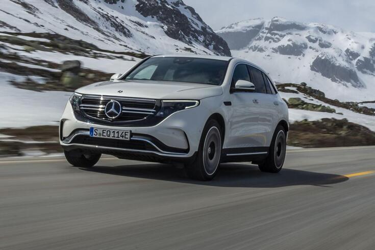 Mercedes-Benz EQC 400 4MATIC: Ataque cerrado ao trono elétrico