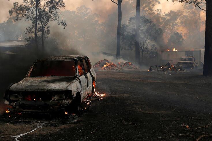 Incêndios na Austrália provocaram cenários desoladores