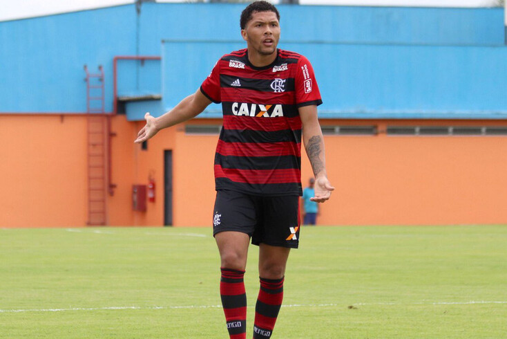 Vítor Gabriel, avançado do Flamengo que está na rota do Braga