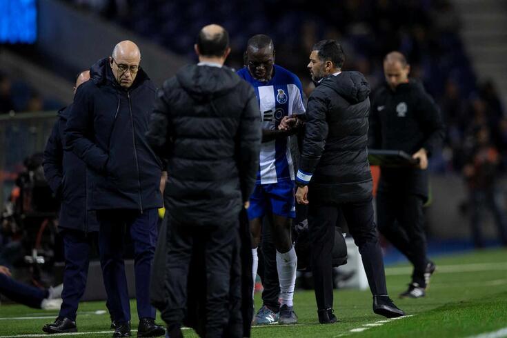 Sérgio Conceição questiona Aboubakar sobre a lesão