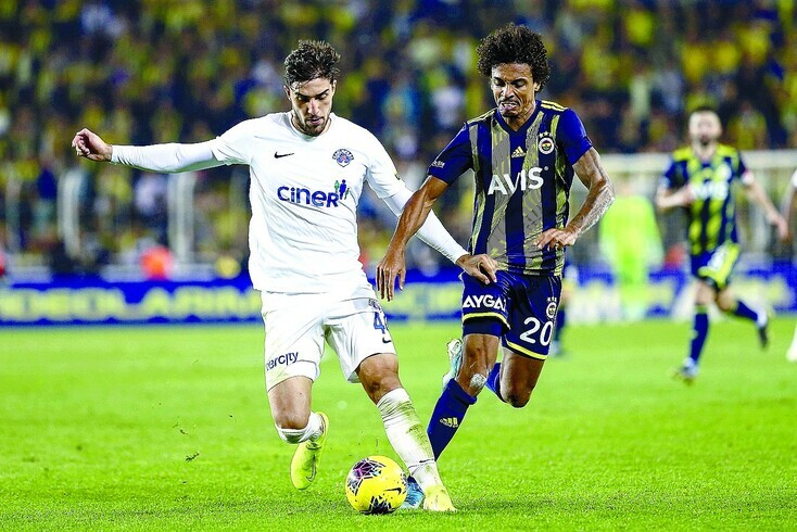 Jorge Fernandes, central do FC Porto cedido ao Kasimpasa
