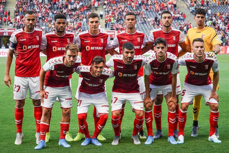 Braga, 24/07/2019 - O Sporting Clube de Braga recebeu esta noite no Estádio Municipal de Braga o AS Monaco