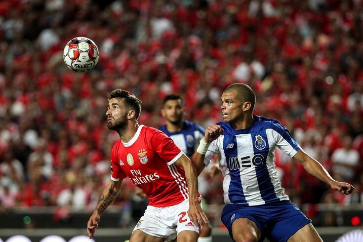 Benfica disputa a Champions, FC Porto está na Liga Europa