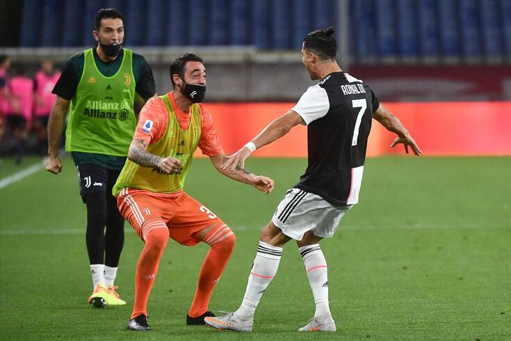 Ronaldo voltou a marcar pela Juve na Serie A