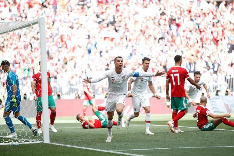 03dcf96e96 Portugal vence Marrocos e está mais perto dos oitavos