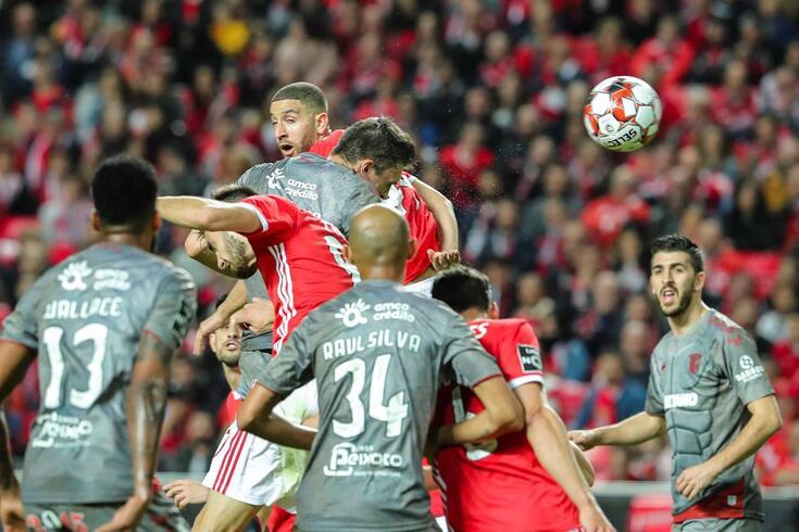 Braga venceu o Benfica no Estádio da Luz