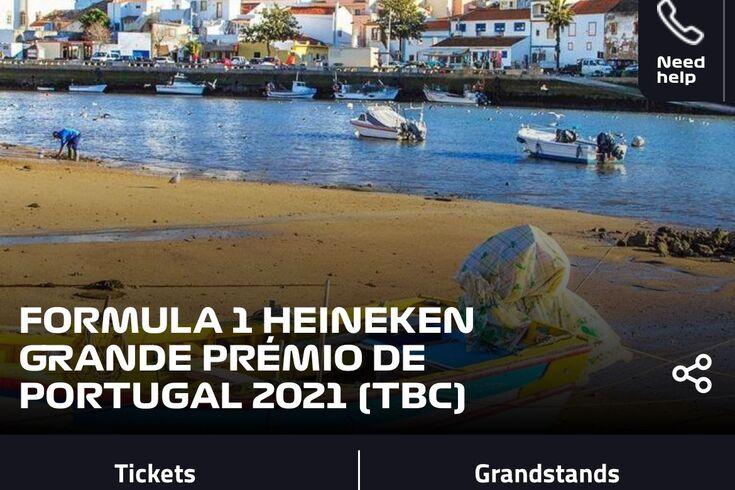 Fórmula 1 já anuncia Grande Prémio de Portugal, em data a confirmar