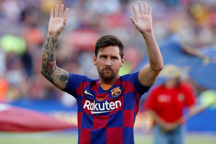 Lionel Messi não joga pela Argentina desde a Copa América