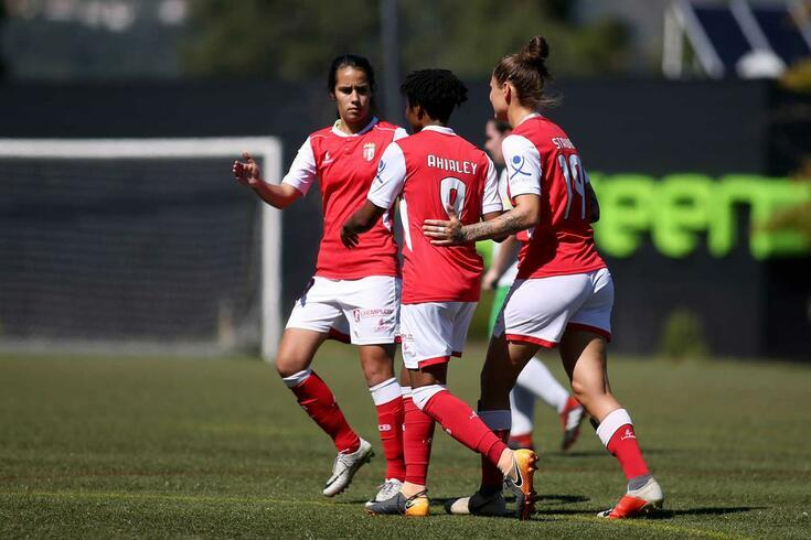 O Braga apurou-se para os 16 avos de final da Champions feminina