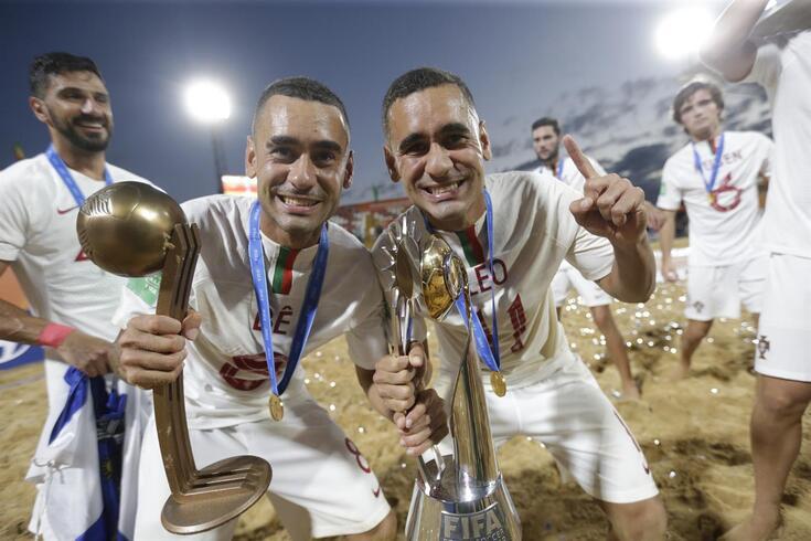 Futebol de praia: título mundial confirma supremacia de Portugal em 2019