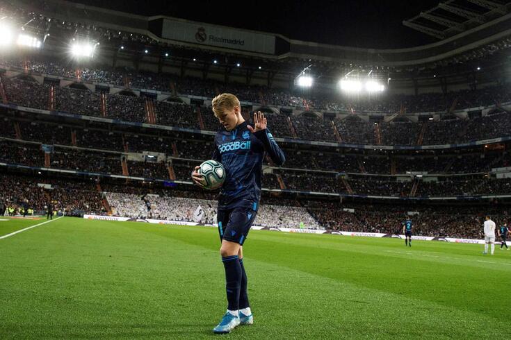 Martin Odegaard, jogador da Real Sociedad