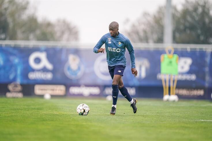 Nanu no treino do FC Porto