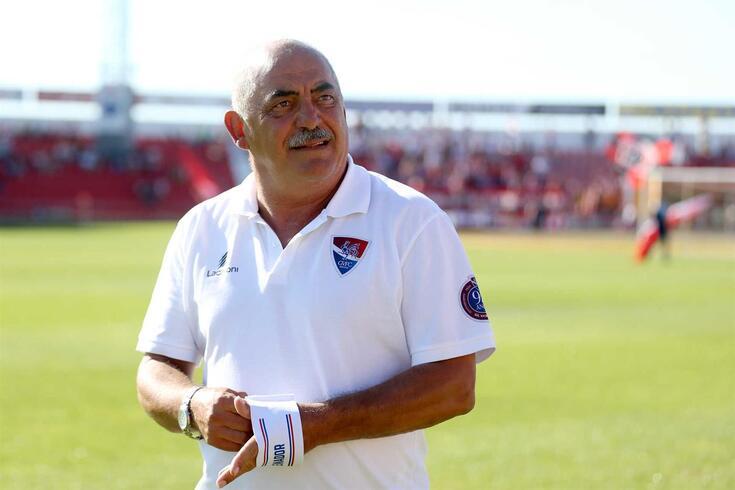 Vítor Oliveira, treinador do Gil Vicente.