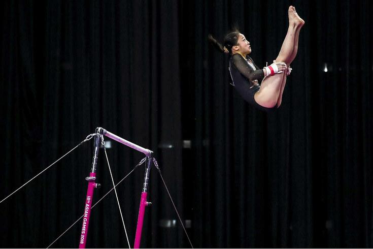 Prova de ginástica artística nos Jogos Asiáticos