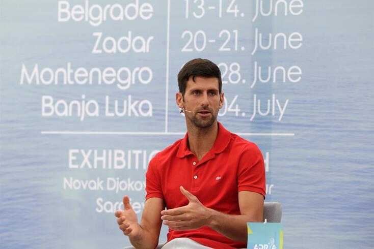 """Novo capítulo da polémica: """"A culpa não é de  Djokovic, mas do Governo"""""""