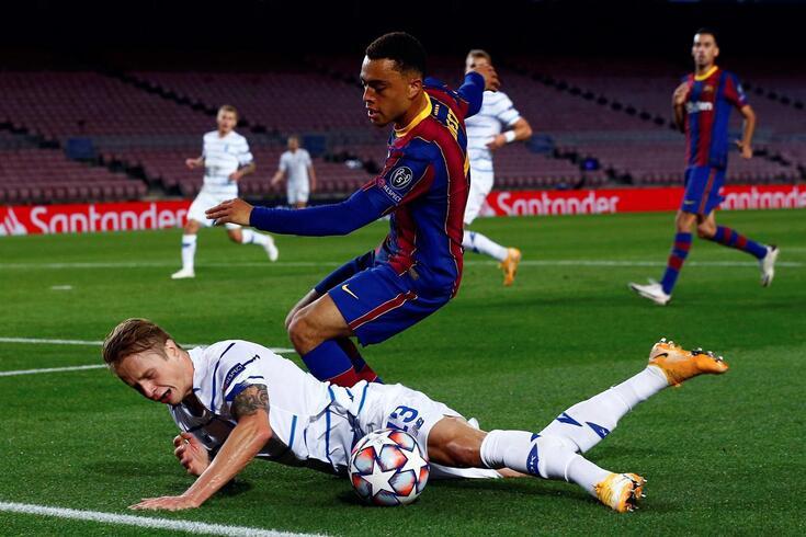 Barcelona derrotou os ucranianos em Camp Nou