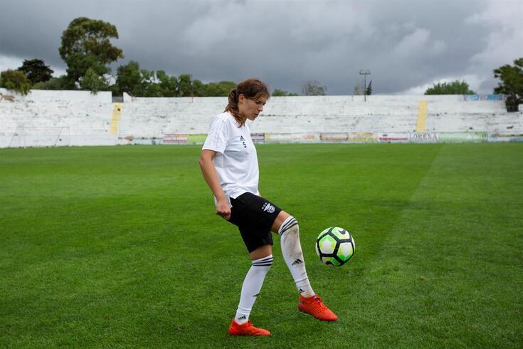 Raquel Infante este duas épocas no Benfica
