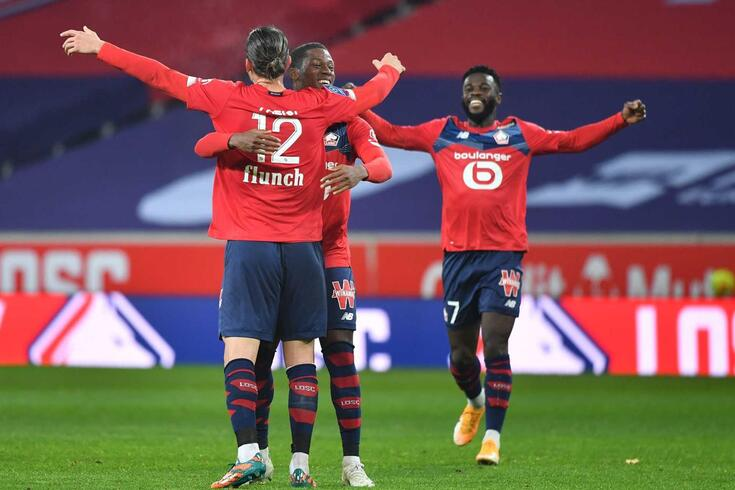 Lille goleou o Lorient