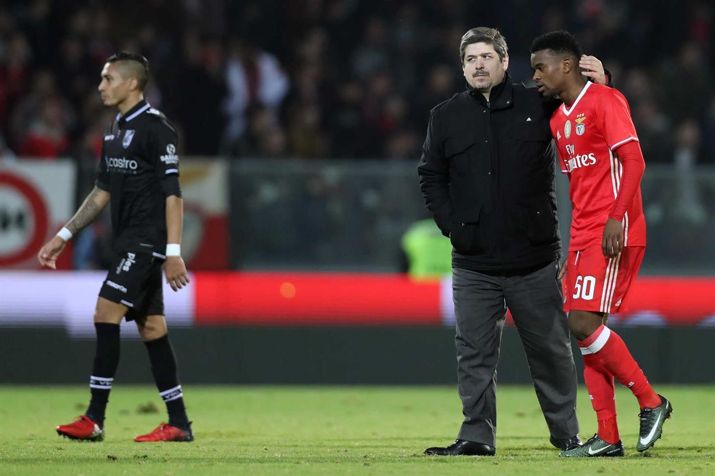 Guimarães, 10/01/2017 - O Vitória Sport Clube recebeu esta noite o Sport Lisboa e Benfica no Estádio