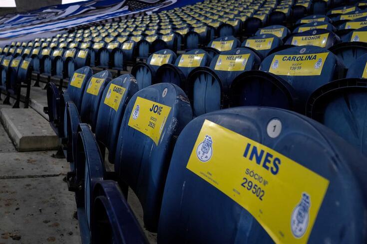 FC Porto volta a lamentar ausência de adeptos dos estádios