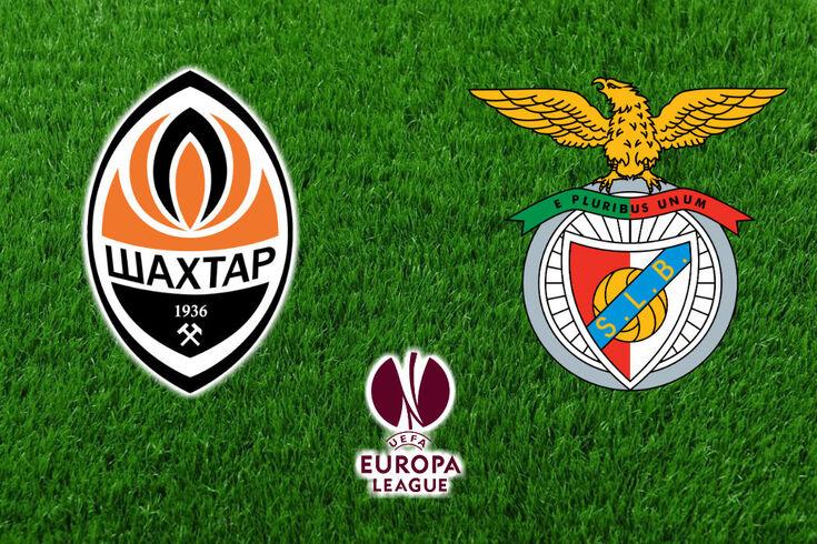DIRETO | Shakhtar Donetsk-Benfica