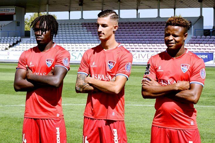 Romário Baldé, Fernando Fonseca e Yves Baraye