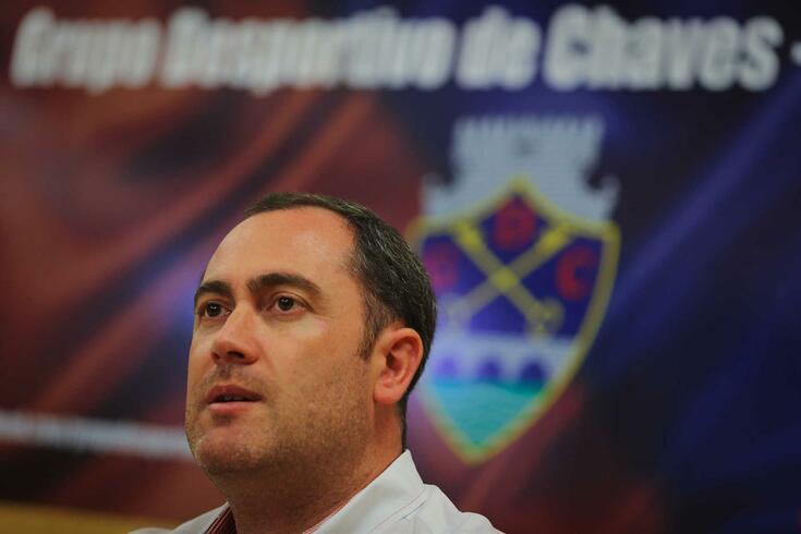 Bruno Carvalho, presidente do Chaves.