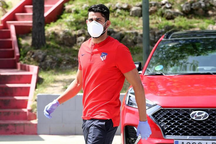 Diego Costa, avançado do Atlético