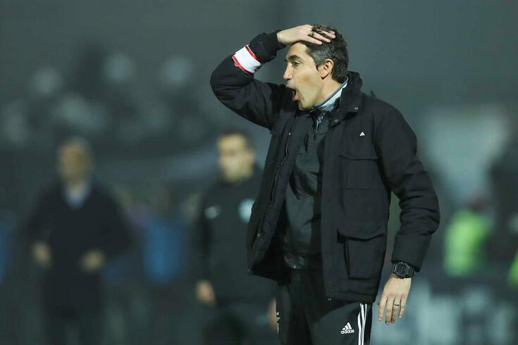 Bruno Lage, técnico do Benfica