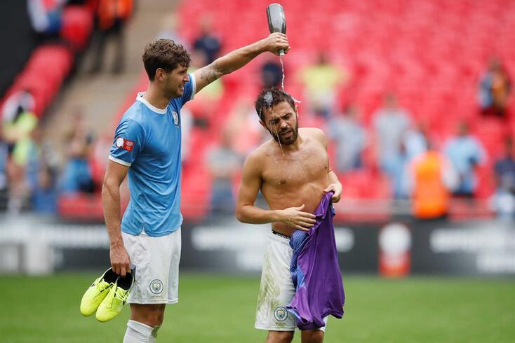 Bernardo Silva chegou a Manchester em 2017. Hoje, é uma das figuras do City